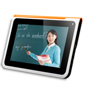 金正 Q2学习机 四核学生平板电脑 幼儿 小学 初中 高中九门课本同步点读机 视频英语家教机 官方标配+键盘皮套