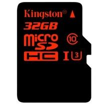 金士顿 32GB UHS-I U3 Class10 TF(Micro SD)高速存储卡(读速90Mb/s 写入80Mb/s)产品图片主图