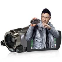 欧达 Z7数码摄像机32G闪存dv触屏红外遥控120倍智能变焦手持式双卡存储高清摄录一体机 褐色 标配送大礼包产品图片主图