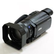 索尼 FDR-AX100E 4K 高清数码摄像机  AX100E