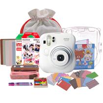 富士 checky拍立得mini25(白色)相机套餐 白色 套餐二产品图片主图