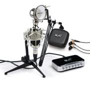 魅声 T6-2网络k歌声卡套装笔记本麦克风电容麦外置独立声卡套装