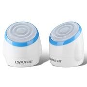 乐放 LF-820 (线控)低音炮/可爱型/便携式多媒体音箱/立体声/全兼容/手机,平板,电脑(蓝色)