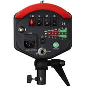 海力欧 大黑鲨II400W升级款 高速闪光灯 内置引闪 摄影棚 摄影灯