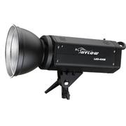 海力欧 LEDB-400W 影室闪光灯摄影灯 儿童摄影高速连拍动态广告