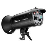 海力欧 大黑鲨II600W升级款高速闪光灯内置引闪带频闪摄影棚摄影灯