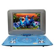 金正 移动电视DVD 17寸高清屏便携式EVD影碟机播放器超薄可读U盘SD卡 6121A蓝