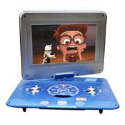 金正 移动电视DVD 17寸大屏便携式影碟机EVD带电视插U盘光盘播放机侧出仓 6121B蓝