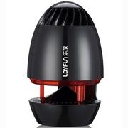 乐放 i80 便携式迷你USB音箱/多媒体音响/低音炮(黑红色)