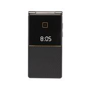 索爱 Z5 移动/联通2G 翻盖老人手机 黑色