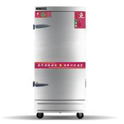 乐创 LC-Z商用蒸饭机 4盘6盘8盘12盘24盘蒸饭车电蒸饭箱 蒸饭柜 6盘 液化气