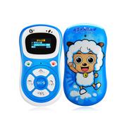 德赛 T86 移动3G/移动/联通2G 直板儿童手机 蓝色