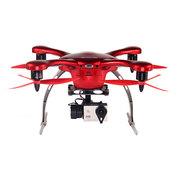 亿航 GHOST航拍版无人机 四轴飞行器 飞行器四旋翼 带相机 安卓航拍版 红