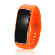YQT 蓝牙手机手表 蓝牙手镯 可穿戴设备 运动蓝牙手表D3 橙色