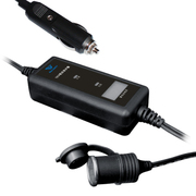 BAI WATT 佰威特 车载电器延长线 带低电压保护检测电瓶电压 汽车电源加长线 2米延伸线