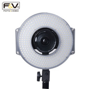 富莱仕 R300 LED 环形摄像灯新闻采访影视频人像常亮补光灯眼神灯影棚人像、服装、儿童拍