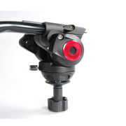 miliboo MYT802专业摄像机球碗平底两用云台碗径75mm云台 变脸王