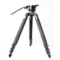 miliboo 铁塔MTT702A专业摄像机新闻大三脚架三角架含液压云台套装产品图片主图
