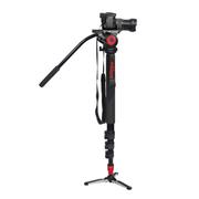 miliboo 铁塔MTT705A专业摄像机 独角架单反独脚架含液压云台套装