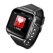 台硕 T100 老人健康定位手表 一键S0S呼叫 心率睡眠检测 黑色