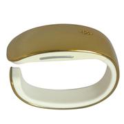 YQT 亦青藤 蓝牙智能手表手环Y02 金色金属质感