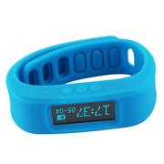 台硕 W110 智能穿戴手环 蓝牙手表 睡眠检测 运动计步 卡路里燃烧 安卓通用 蓝色 苹果4S和安卓4.3以上