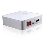 chandral 香容尔便携式大容量 移动电源 手机平板 充电宝通用 超薄充电器6000毫安