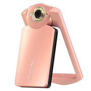 卡西欧 EX-TR550TR500升级版美颜数码相机自拍神器 海棠粉