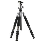 伟峰 C285碳纤维三脚架 云台套装 尼康佳能单反相机三角架 旅游摄影反折便携摄像支架