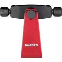 美孚 MPH100 三星 苹果 小米 iphone 适配任意三脚架云台 摄影摄像专业手机底座架子  玫瑰红产品图片主图