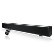 minana GS601壁挂式回音壁 蓝牙无线智能音箱 家庭影院 3D环绕音液晶电视音响 黑色