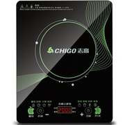志高 809 电磁炉 多功能 超薄 超大面板 整版触摸