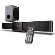 现代 SR-3100 家庭影院音响 壁挂回音壁家用KTV卡拉OK带遥控低音炮蓝牙音箱 黑色