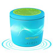 摩天轮 MOTORO  无线蓝牙音箱 便携插卡低音炮苹果小米手机迷你小音响 蓝色