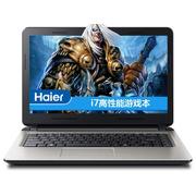 海尔 S410-I745G40500NDTS 14英寸笔记本(i7-4510U/4G/500G/GT820M/2G独显/DOS/银色)