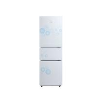 美的 BCD-216TM(E)216升高颜值/大冷藏/静音/省电/三门冰箱(悦动白)产品图片主图