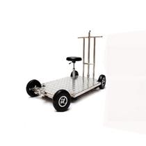 青牛(Greenbull) 32轮影视轨道车JX1200摄影轨道车电影拍摄滑轨车 G1200直轨/节产品图片主图