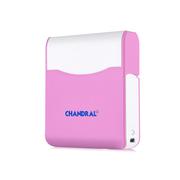 chandral 香容尔 移动电源充电宝8000mAh 化妆镜 聚合物锂离子电芯充电宝 粉红色