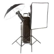 保荣(BOWENS) 影棚灯 影室灯 英国(BOWNES) 爱拍双控500C双灯 伞/柔光箱套装产品图片主图