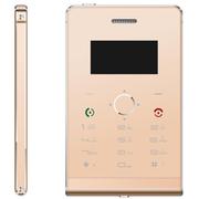 啦唔酷 超薄手机 德国SOYES 迷你卡片手机 袖珍小手机 儿童学生礼物 土豪金8G