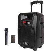 先科 ST-1502广场舞电瓶拉杆音箱 移动音响户外扩音器 黑色