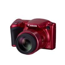 佳能 PowerShot SX410 IS 数码相机(2000万像素 40倍光学变焦 24mm超广角)红色产品图片主图
