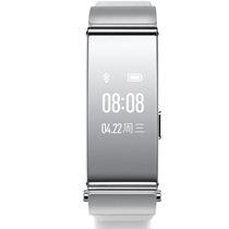 华为 手环B2 (蓝牙耳机与智能手环完美结合+金属机身+触控屏幕+真皮表带) 商务版 银色产品图片主图