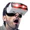 apphome 博思尼 3D视频眼镜头盔 智能眼镜 暴风影音魔镜 私人影院 个人头戴式投影机产品图片1
