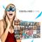 apphome 博思尼 3D视频眼镜头盔 智能眼镜 暴风影音魔镜 私人影院 个人头戴式投影机产品图片2