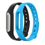 小米 手环 智能防水运动手环 计步器 可监测健康睡眠 黑色原封 黑色原装手环+蓝色非原装腕带