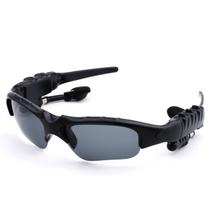 数码王 智能蓝牙眼镜耳机 头戴式音乐太阳镜 户外骑行 可通话 4.1蓝牙眼镜 黑色产品图片主图