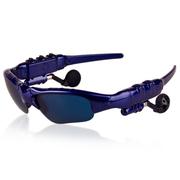 台硕 智能蓝牙眼镜太阳镜 立体声蓝牙耳机 开车必备 安卓苹果手机通用 蓝色