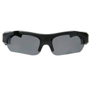 纳百川 N15  智能眼镜 自行车摩托车高清骑行摄像眼镜 户外运动摄像太阳眼镜 先锋黑N16