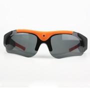 纳百川 N15  智能眼镜 自行车摩托车高清骑行摄像眼镜 户外运动摄像太阳眼镜 前卫橙N16